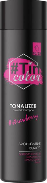 Тоналайзер для волосся TIN COLOR Полуничний сорбет 10/65, 250мл (4820197005451)