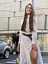 Платье - рубашка ниже колен с резинкой на талии (р. 42-46) 83plt1609, фото 4