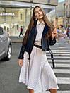 Платье - рубашка ниже колен с резинкой на талии (р. 42-46) 83plt1609, фото 5
