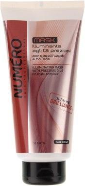 Маска Brelil Numero для блеска волос на основе ценных масел 300 мл (8011935071777)