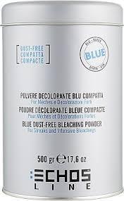 Освітлювач Блонд порошковий 500г блакитний .Echosline (8033210293124)
