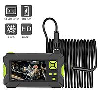 """Жесткий USB эндоскоп с 4.3"""" экраном FullHD 1080P Hard 5 метров / 8 мм"""