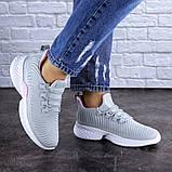 Женские кроссовки Fashion Ripple 1730 38 размер 24,5 см Серый Размер 38 - 24,5 см, фото 8