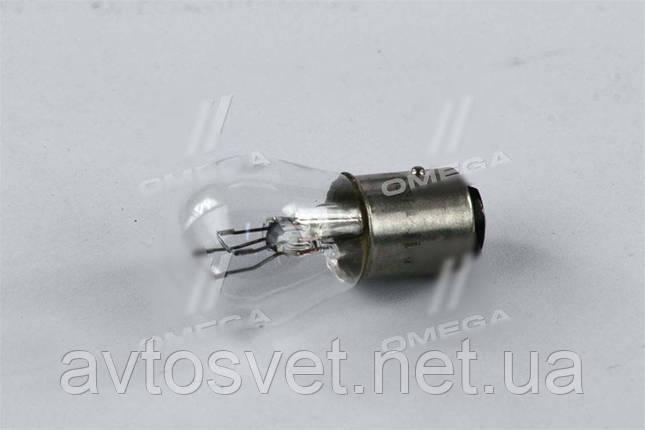 Лампа накаливания P21/5W 12V BAY15d (пр-во Magneti Marelli) 8528100000, фото 2