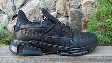 Мужские кроссовки Baas черные (41-45 р.) m962-1
