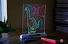 Детская развивающая  с LED подсветкой Magic Drawing Board Line, фото 2