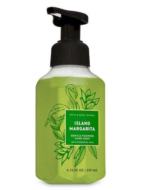 Жидкое мыло-пенка для рук Bath and Body Works ISLAND MARGARITA Gentle Foaming Hand Soap 259 мл с дозатором