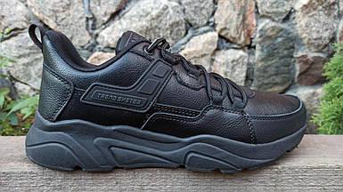 Мужские кроссовки Baas черные (41-46 р.) M7010-1
