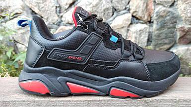 Мужские кроссовки Baas черные (41-46 р.) M7010-11