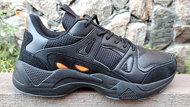 Мужские кроссовки Baas черные (41-46 р.) M7008-11