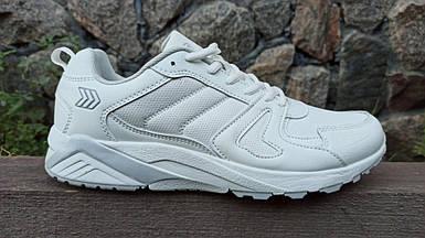 Мужские кроссовки Restime белые (41-45 р.) PMO20387