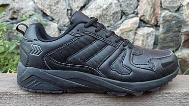 Мужские кроссовки Restime черные (41-45 р.) PMO20387-1
