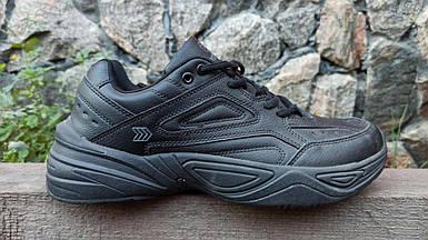 Мужские кроссовки Restime черные (41-45 р.) PMO19378-1