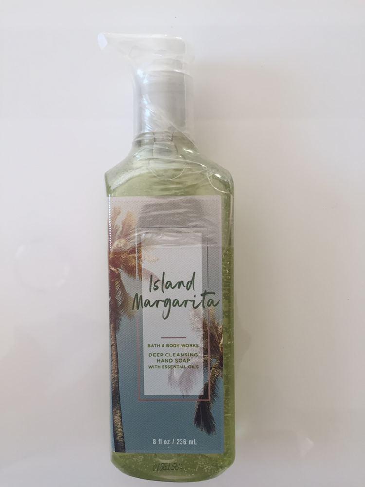 Жидкое мыло-гель для рук Bath and Body Works ISLAND MARGARITA Gentle Foaming Hand Soap 236 мл с дозатором
