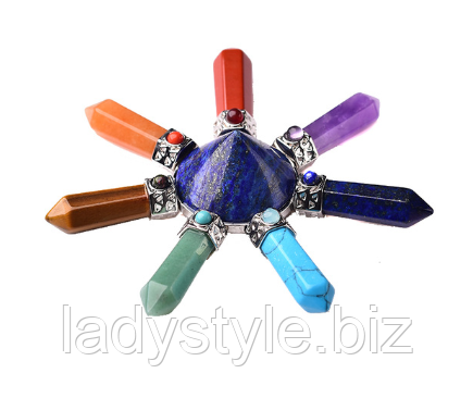 Гаррмонизатор -Пирамида с натуральными камнями от студии www.LadyStyle.Biz
