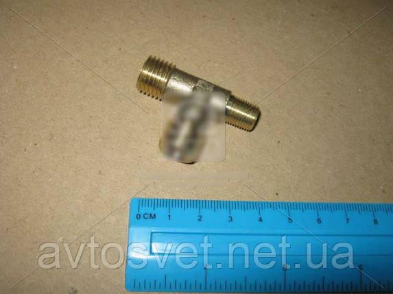 Тройник бронзовый М14х14 конус М10 864493, фото 2