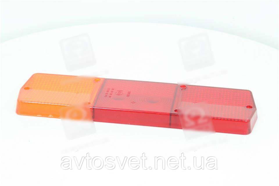 Стекло фонаря заднего левого Ф-403, КАМАЗ, ГАЗ (Руслан-Комплект) Ф-403.01
