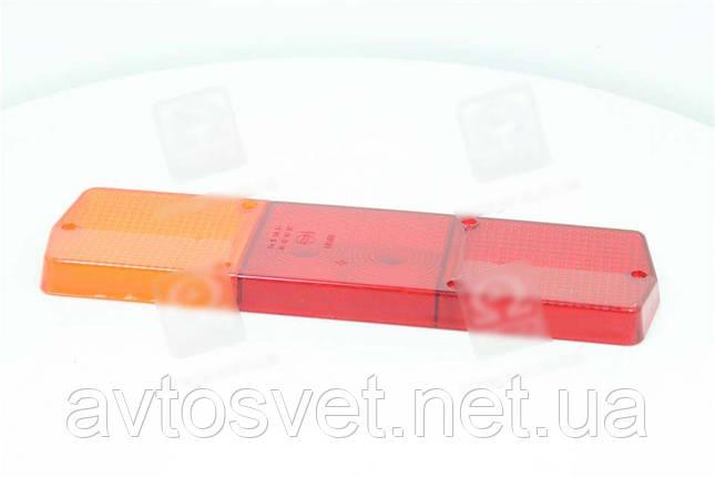 Стекло фонаря заднего левого Ф-403, КАМАЗ, ГАЗ (Руслан-Комплект) Ф-403.01, фото 2
