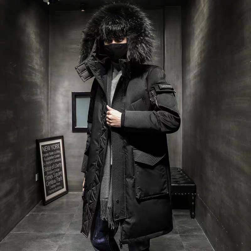 """Куртка-пуховик, парка зимняя """"London"""" унисекс"""