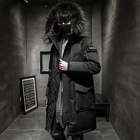 """Куртка-пуховик, парку зимова """"London"""" унісекс"""
