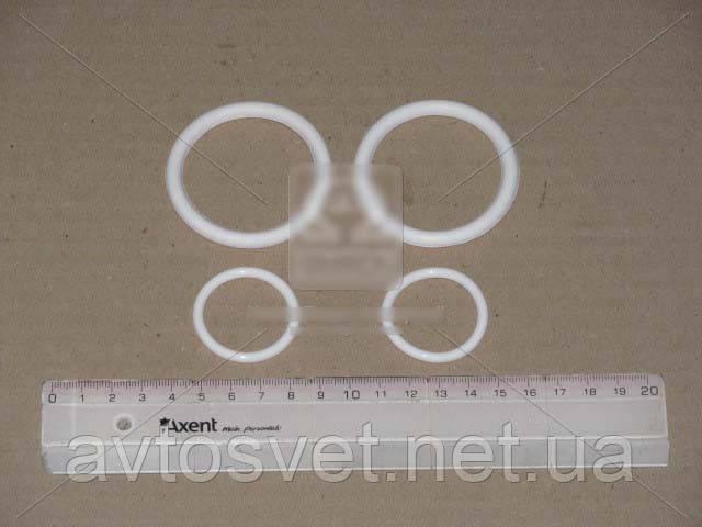 Р/к системы охлаждения Камаз (2 поз.) (белый силикон) (пр-во ГарантАвто) РК-1303000 Евро-2,3