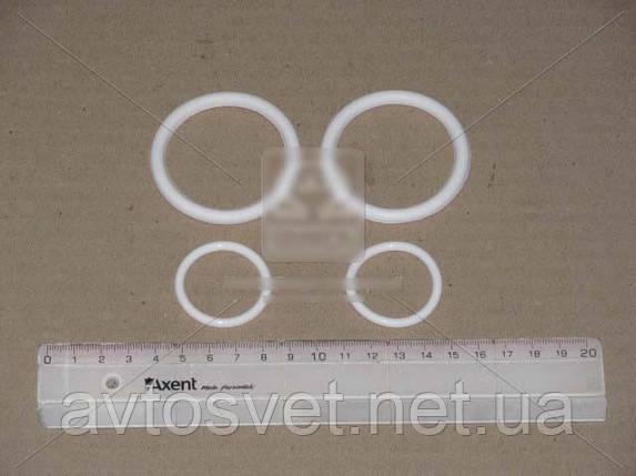 Р/к системы охлаждения Камаз (2 поз.) (белый силикон) (пр-во ГарантАвто) РК-1303000 Евро-2,3, фото 2