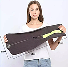 Подушка-шарф для подорожей Travel Pillow Gray, фото 7