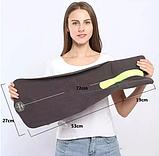 Подушка-шарф для путешествий Travel Pillow Gray, фото 7