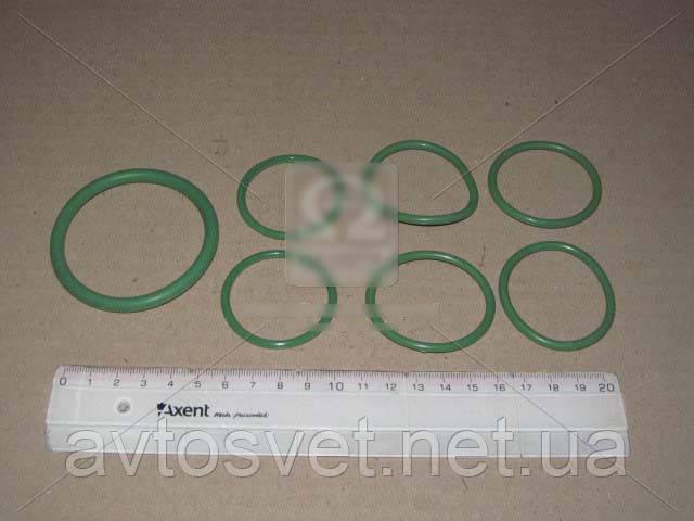 Р/к системы охлаждения Камаз (3 поз.) (зеленый силикон) (пр-во ГарантАвто) ГА РК-1303000 зелен.