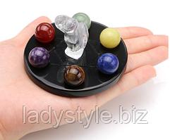 Зцілюють кулі, ангел з натуральними каменями від студії www.LadyStyle.Biz