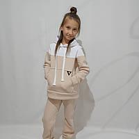 Детский тёплый спортивный костюм для девочки (рост 134-158)
