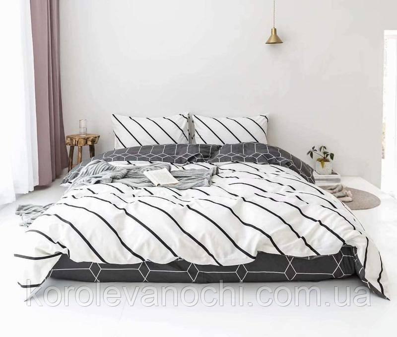 """Евро комплект (Бязь) постельного белья """"Королева Ночи""""   Постельное белье от производителя"""