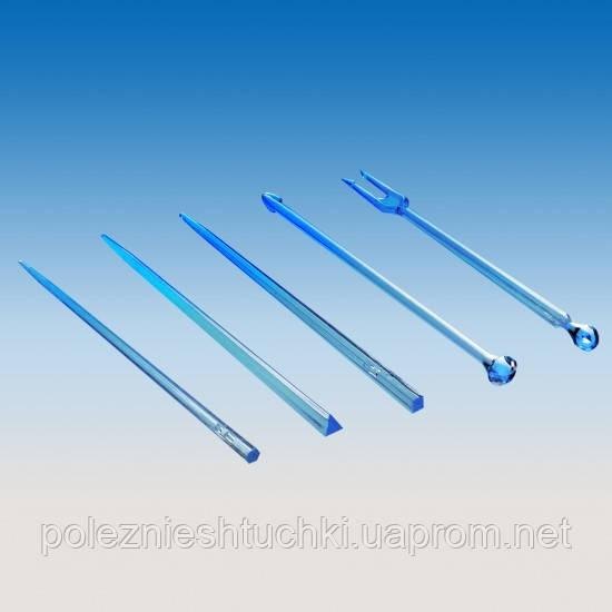 Шпажки-палочки для снеков фуршетные 9 см., 1650 шт/уп прозрачные, стеклоподобная (в ассортименте)