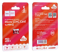 Карта памяти micro HOCO 16GB