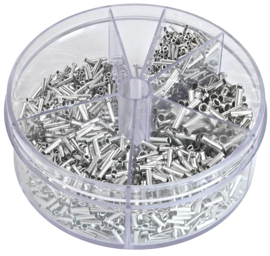 Набір металевих наконечників на дроти 1900 шт. ASTA A-TC512