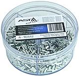 Набор металлических наконечников на провода 1900 шт. ASTA A-TC512, фото 3