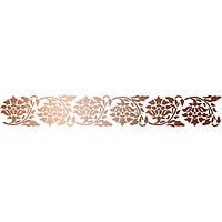 Трафарет многоразовый 11х33 см Бордюр Хмель