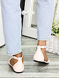Туфли Алиса пудра кожа 7419-28, фото 4