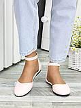 Туфли Алиса пудра кожа 7419-28, фото 3
