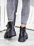 Ботинки женские кожаные Opium , фото 5