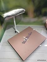 """Подставка для педикюра с местом под ванночку """"Капучино с серебряной подушкой"""", фото 1"""