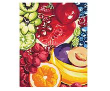 """Картина за номерами. Квіти """"Солодкі фрукти"""" 40*50см * KHO2937"""