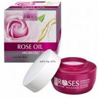 Интенсивный дневной крем против морщин с розовым и аргановым маслом /AGIVA ROSES Rose and Argan Oil 50мл, фото 1