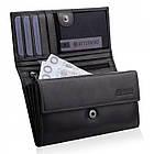 Жіночий шкіряний гаманець Betlewski з RFID 16,5 х 9,7 х 3,5 (BPD-VTC-10) - чорний, фото 2