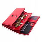 Шкіряний гаманець BETLEWSKI з RFID 16,5 х 9,7 х 3,5 (BPD-VTC-10) - червоний, фото 2