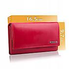 Шкіряний гаманець BETLEWSKI з RFID 16,5 х 9,7 х 3,5 (BPD-VTC-10) - червоний, фото 5