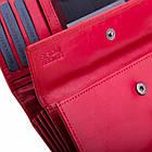 Шкіряний гаманець BETLEWSKI з RFID 16,5 х 9,7 х 3,5 (BPD-VTC-10) - червоний, фото 6