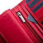 Шкіряний гаманець BETLEWSKI з RFID 16,5 х 9,7 х 3,5 (BPD-VTC-10) - червоний, фото 8