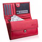 Шкіряний гаманець BETLEWSKI з RFID 16,5 х 9,7 х 3,5 (BPD-VTC-10) - червоний, фото 9