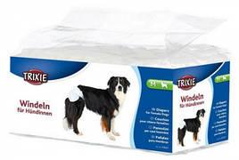 Trixie (Тріксі) Памперси для собак M 32-48 см 12шт